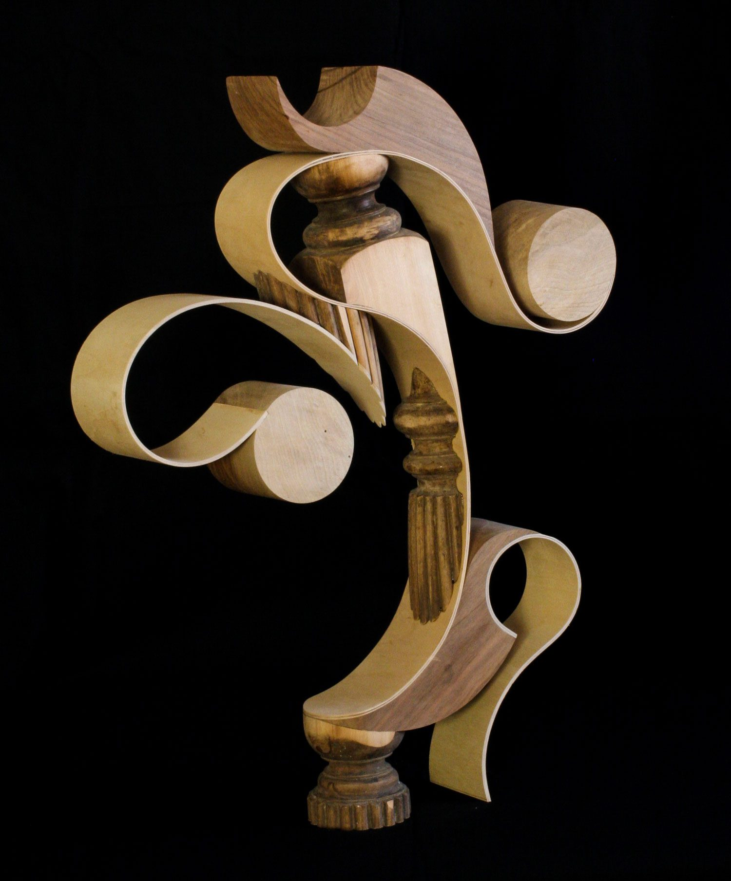 sketch of 'You' - wood and plywood